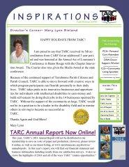Fall/Winter Newsletter 2015