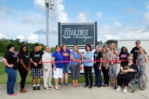 Cedar Chest Boutique Opening